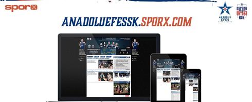 Anadolu Efes Spor Kulübü ile Sporx arasındaki partnerlik anlaşması yenilendi…